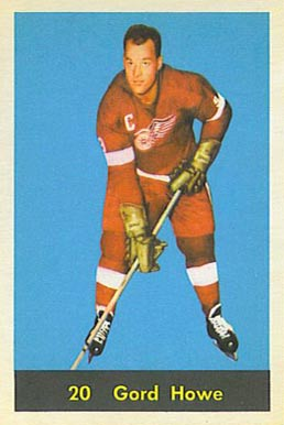 1960 Parkhurst Gordie Howe #20 Hockey Card