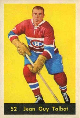 1960 Parkhurst Jean-Guy Talbot #52 Hockey Card