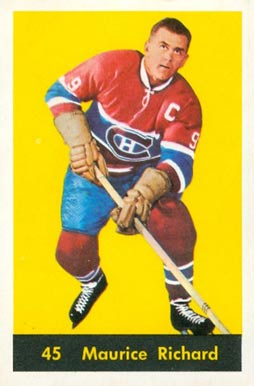 1960 Parkhurst Maurice Richard #45 Hockey Card