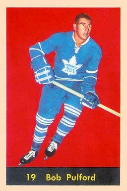 1960 Parkhurst Bob Pulford #19 Hockey Card