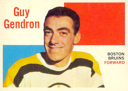 1960 Topps Jean-Guy Gendron #31 Hockey Card