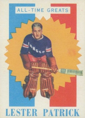 1960 Topps Lester Patrick #1 Hockey Card