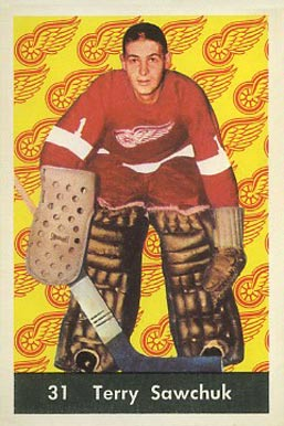 1961 Parkhurst Terry Sawchuk #31 Hockey Card