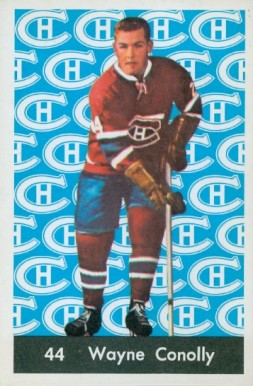 1961 Parkhurst Wayne Connelly #44 Hockey Card
