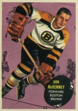 1961 Topps Don McKenney #12 Hockey Card
