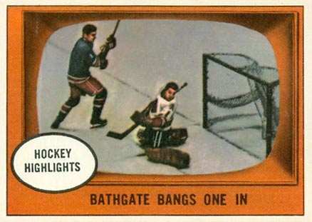1961 Topps   #22 Hockey Card