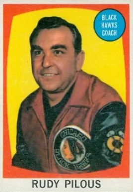 1961 Topps Rudy Pilous #23 Hockey Card