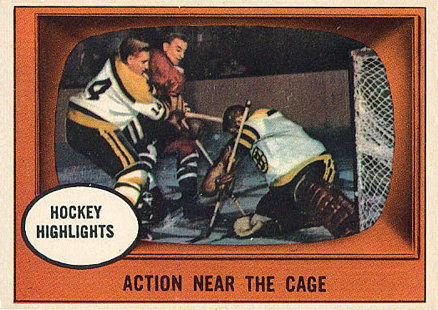 1961 Topps   #21 Hockey Card