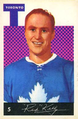 1962 Parkhurst Red Kelly #5 Hockey Card