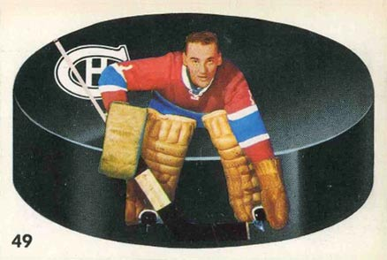 1962 Parkhurst Jacques Plante #49 Hockey Card