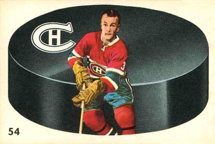 1962 Parkhurst J.C. Tremblay #54 Hockey Card