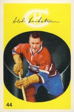 1962 Parkhurst Ralph Backstrom #44 Hockey Card