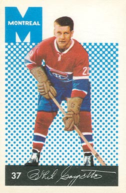 1962 Parkhurst Phil Goyette #37 Hockey Card