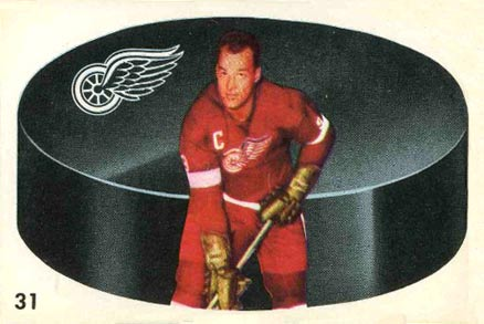 1962 Parkhurst Gordie Howe #31 Hockey Card