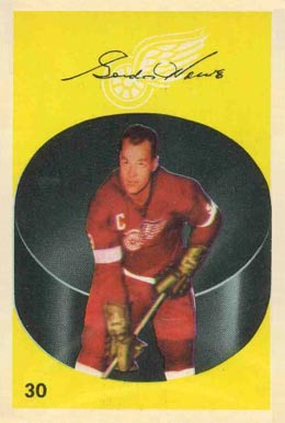 1962 Parkhurst Gordie Howe #30 Hockey Card