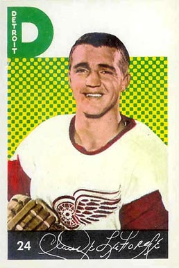 1962 Parkhurst Claude LaForge #24 Hockey Card
