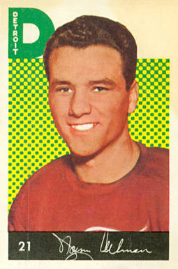 1962 Parkhurst Norm Ullman #21 Hockey Card