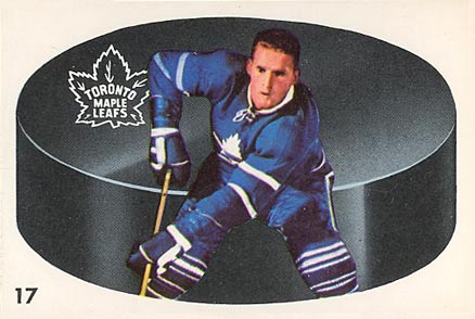 1962 Parkhurst Larry Hillman #17 Hockey Card