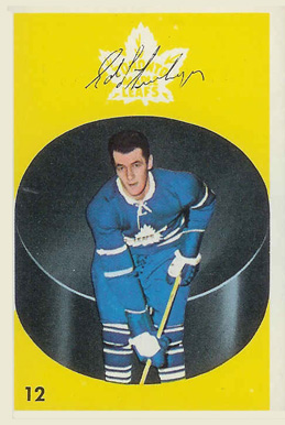 1962 Parkhurst Ed Litzenberger #12 Hockey Card
