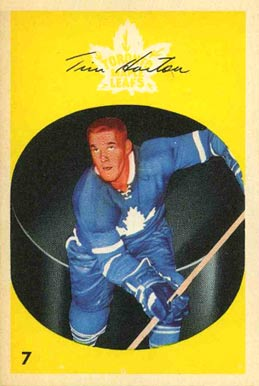 1962 Parkhurst Tim Horton #7 Hockey Card
