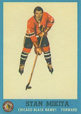 1962 Topps Stan Mikita #34 Hockey Card