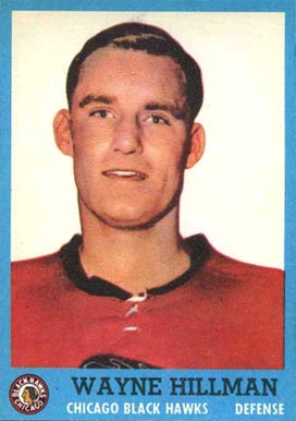 1962 Topps Wayne Hillman #31 Hockey Card