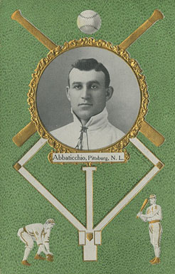 1908 Rose Company Postcards Ed Abbaticchio #1 Baseball Card