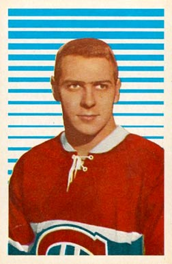 1963 Parkhurst Gilles Tremblay #21 Hockey Card