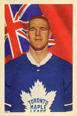 1963 Parkhurst Tim Horton #16 Hockey Card