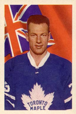 1963 Parkhurst Eddie Shack #9 Hockey Card