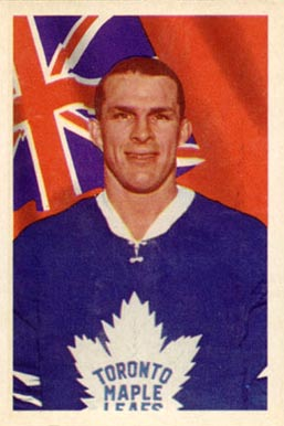 1963 Parkhurst Carl Brewer #8 Hockey Card