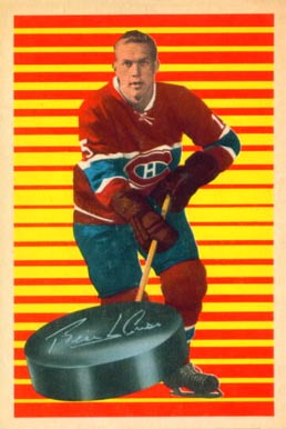 1963 Parkhurst Terry Harper #91 Hockey Card