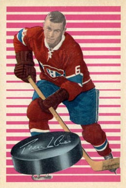 1963 Parkhurst Ralph Backstrom #83 Hockey Card