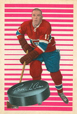1963 Parkhurst Jean-Guy Talbot #81 Hockey Card