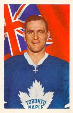 1963 Parkhurst Bob Baun #18 Hockey Card