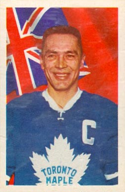 1963 Parkhurst George Armstrong #13 Hockey Card