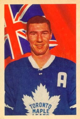 1963 Parkhurst Bob Pulford #12 Hockey Card