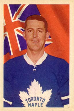 1963 Parkhurst Billy Harris #11 Hockey Card