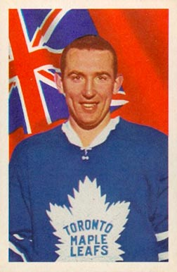 1963 Parkhurst Bob Nevin #10 Hockey Card