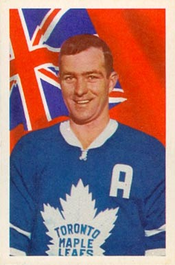 1963 Parkhurst Dick Duff #4 Hockey Card
