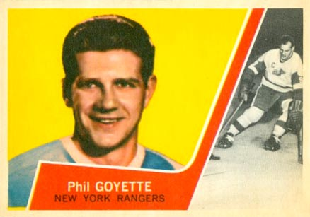 1963 Topps Phil Goyette #58 Hockey Card