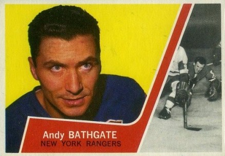 1963 Topps Andy Bathgate #52 Hockey Card