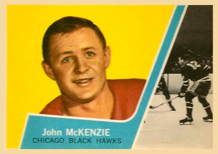 1963 Topps John Mckenzie #42 Hockey Card