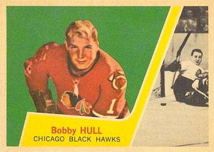 1963 Topps Bobby Hull #33 Hockey Card