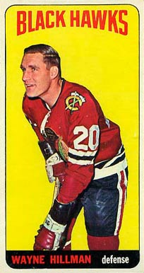 1964 Topps Wayne Hillman #41 Hockey Card