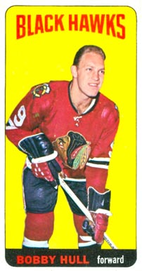 1964 Topps Bobby Hull #20 Hockey Card