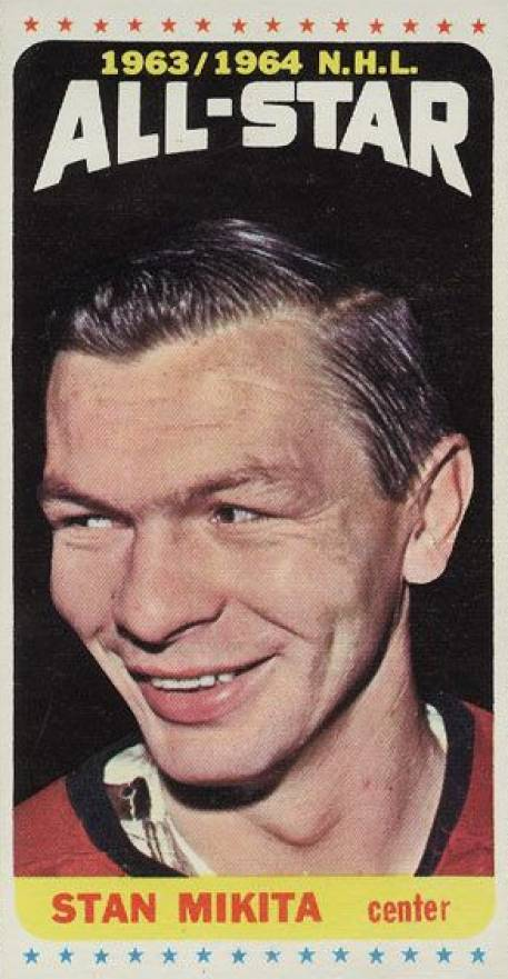 1964 Topps Hockey Stan Mikita #106 Hockey Card
