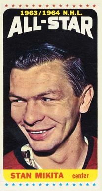 1964 Topps Stan Mikita #106 Hockey Card