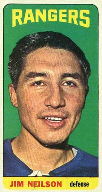 1964 Topps Jim Neilson #103 Hockey Card