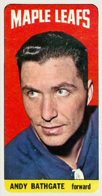 1964 Topps Andy Bathgate #86 Hockey Card